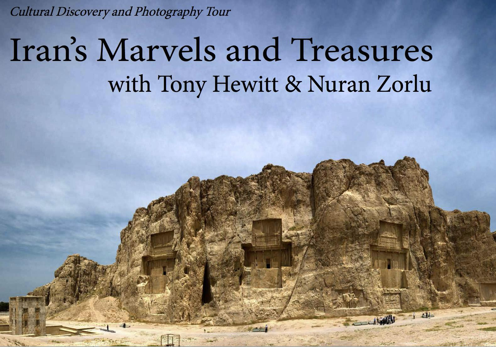Iran with Tony Hewitt September
